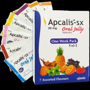 Γενικός TADALAFIL για πώληση στην Ελλάδα: Apcalis SX Oral Jelly 20mg στο ηλεκτρονικό ηλεκτρονικό κατάστημα ψαριών azfreighters.com