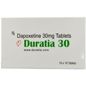 Γενικός DAPOXETINE για πώληση στην Ελλάδα: Duratia 30 mg στο ηλεκτρονικό ηλεκτρονικό κατάστημα ψαριών azfreighters.com