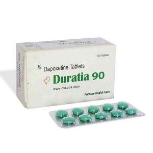 Γενικός DAPOXETINE για πώληση στην Ελλάδα: Duratia 90 mg στο ηλεκτρονικό ηλεκτρονικό κατάστημα ψαριών azfreighters.com