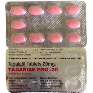 Γενικός TADALAFIL για πώληση στην Ελλάδα: Tadarise Pro 20 στο ηλεκτρονικό ηλεκτρονικό κατάστημα ψαριών azfreighters.com